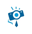 Photographer abstract sign vector image vector image