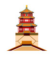 summer palace beijing china vector image vector image