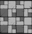 texture of gray stone tiles seamless background vector image