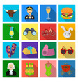 trade textiles industry and other web icon in vector image vector image