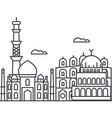 delhiindia line icon sign vector image