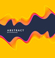 abstract geometric background with dynamic waves vector image vector image