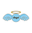 angel design vector image vector image