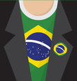 Brazil T-Shirt vector image vector image