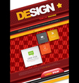 Modern abstract brochure book corporate cover vector image vector image