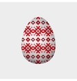 ornament easter egg vector image vector image