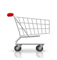 Shop cart vector image
