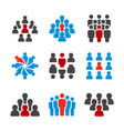 unique person icon vector image vector image