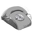 Vintage phone vector image vector image