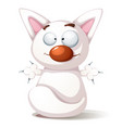 funny cute cat - vector image