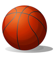 A basketball ball vector image vector image