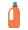 bottle laundry product icon vector image