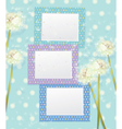 flowers frames vector image