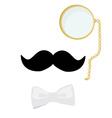 Gentleman symbol vector image vector image