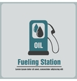 icon fueling vector image