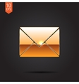 mail icon Eps10 vector image vector image