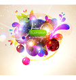 Abstract Bubble Design vector image