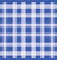 blue seamless pattern gingham background vector image vector image