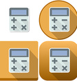 Calculator Icon Pack vector image vector image