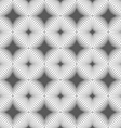 Gray diagonally striped squared reflected with vector image
