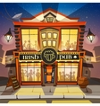 Irish Pub Cartoon vector image