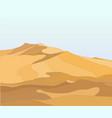 landscape desert vector image