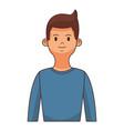 man young avatar portrait vector image
