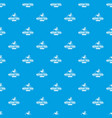 repair firm pattern seamless blue vector image vector image