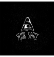 your emblem space vector image vector image