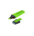 Isometric marker on white background For web vector image