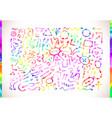 colorful watercolor arrows vector image vector image
