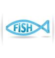 Logo fish vector image vector image