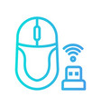 mouse icon in gradient style about internet
