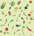 seamless pattern with colored vegetables for your vector image