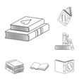 study and literature symbol vector image
