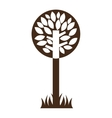 tree ecology symbol icon vector image vector image