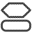 Two Chain Frames vector image