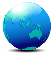 Asia Australia Far East vector image