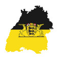 coat arms baden-wurttemberg germany vector image vector image