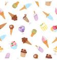 ice cream waffle cones eskimo or icecream in vector image vector image