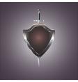 Metal swords and shield