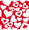 Valentine seamless hearts pattern vector | Price: 1 Credit (USD $1)