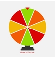 Wheel of Fortune Lucky Icon vector image