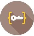 Unlock Code vector image