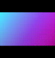 abstract background color gradient and halftone vector image vector image