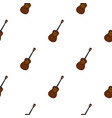 charango music instrument pattern seamless vector image vector image