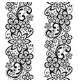 lace seamless pattern repetitive ornament vector image vector image