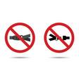 seat belt sign vector image vector image