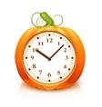 Pumpkin Clock vector image