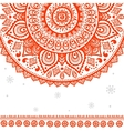 Beautiful vintage ornament vector image vector image